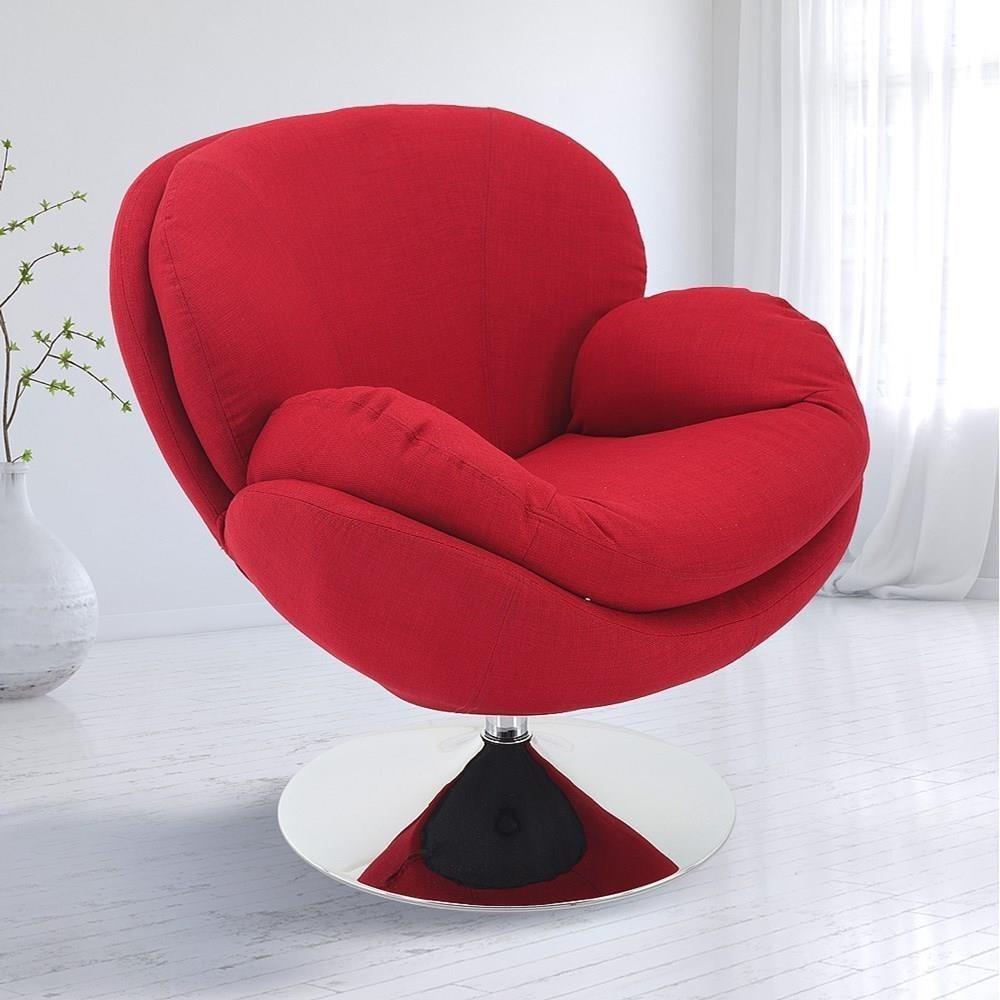Strand Upholstered Swivel Leisure Chair at Sadler's Home Furnishings
