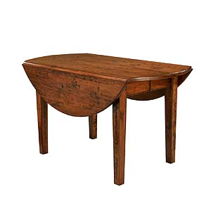 "MacKenzie Dow English Pub 48"" Dropleaf Extension Table"