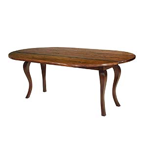 MacKenzie Dow English Pub Oval Dropleaf Table