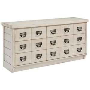 Magnolia Home by Joanna Gaines Farmhouse 9 Drawer Buffet Dresser