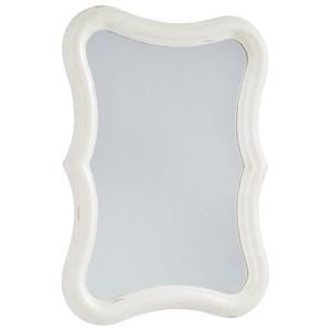 Silhouette Mirror - Jo's White