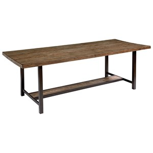 """84"""" Dining Table with Shop Floor Finish"""