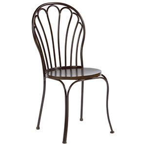 Magnolia Home by Joanna Gaines Primitive Metal Peacock Chair
