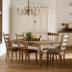 Magnolia Home by Joanna Gaines Primitive Primitive Dining Room Group