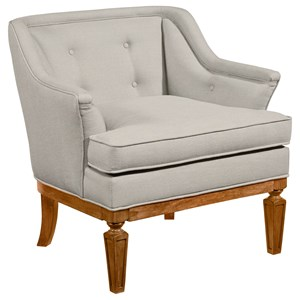 Cotillion Upholstered Tub Shaped Chair