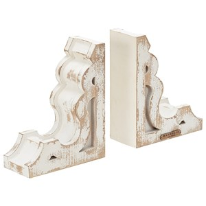 Wooden Book End