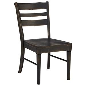 Slat Back Kempton Side Chair