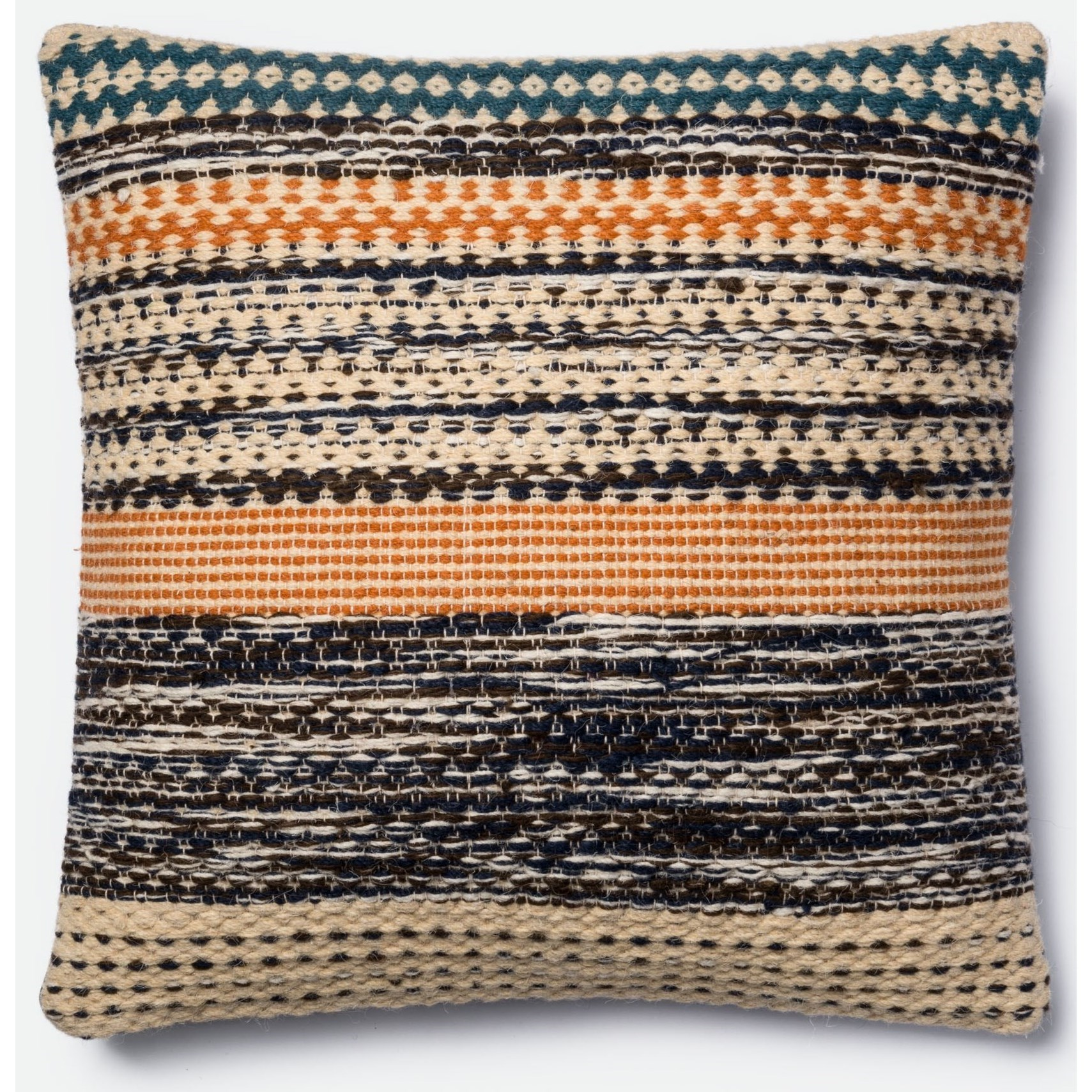 """Accent Pillows 22"""" X 22"""" Cover w/Down Pillow by Magnolia Home by Joanna Gaines for Loloi at Belfort Furniture"""