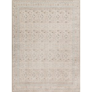 "2' 7"" X 4' Machine-Made Stone / Stone Traditional Rectangle Rug"