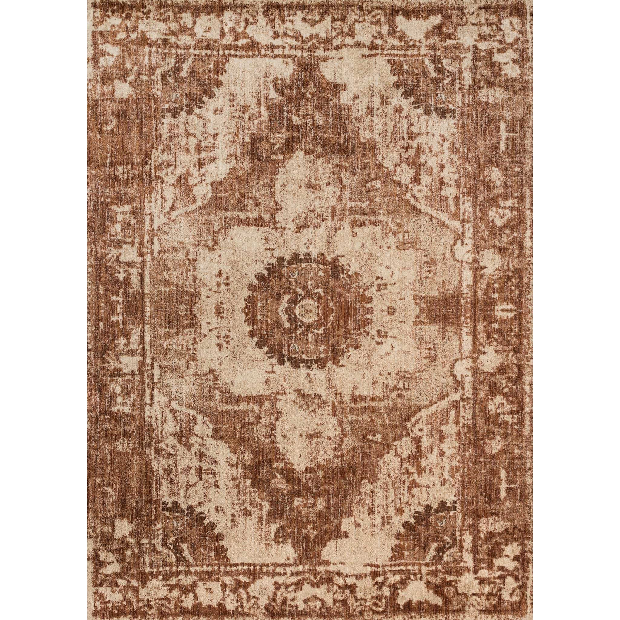 "Kivi 6' 7"" X 9' 2"" Rectangle Rug by Magnolia Home by Joanna Gaines for Loloi at Belfort Furniture"