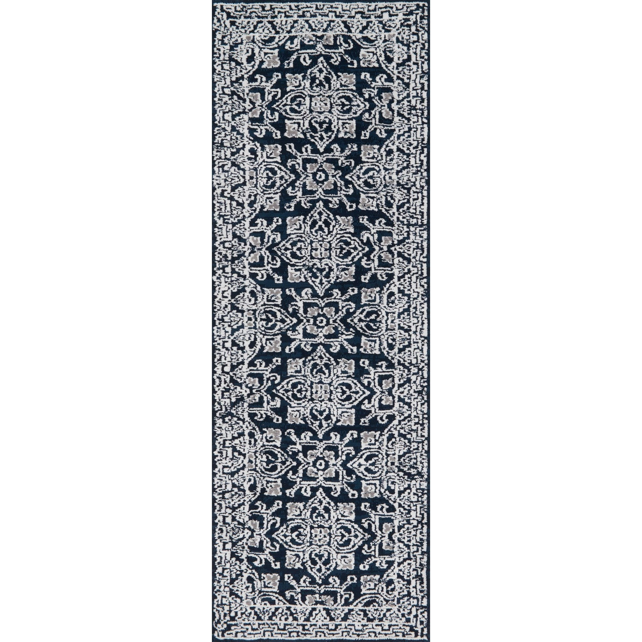 """Lotus 2' 6"""" X 7' 6"""" Runner Rug by Magnolia Home by Joanna Gaines for Loloi at Belfort Furniture"""