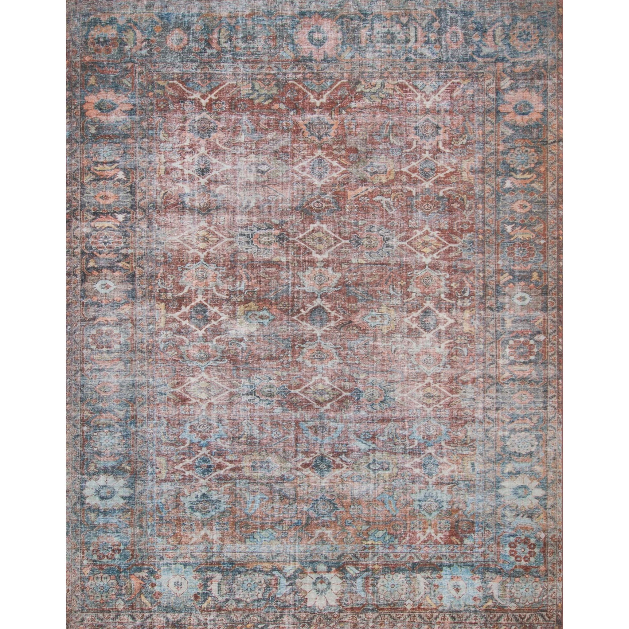 """Lucca 1'-6"""" x 1'-6"""" Square Rug by Magnolia Home by Joanna Gaines for Loloi at Belfort Furniture"""