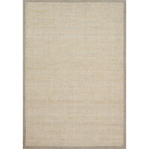 """7' 9"""" x 9' 9"""" Hand-Made Lt Grey Traditional Rectangle Rug"""