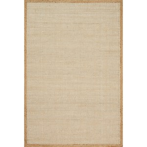 "7' 9"" x 9' 9"" Hand-Made Natural Traditional Rectangle Rug"