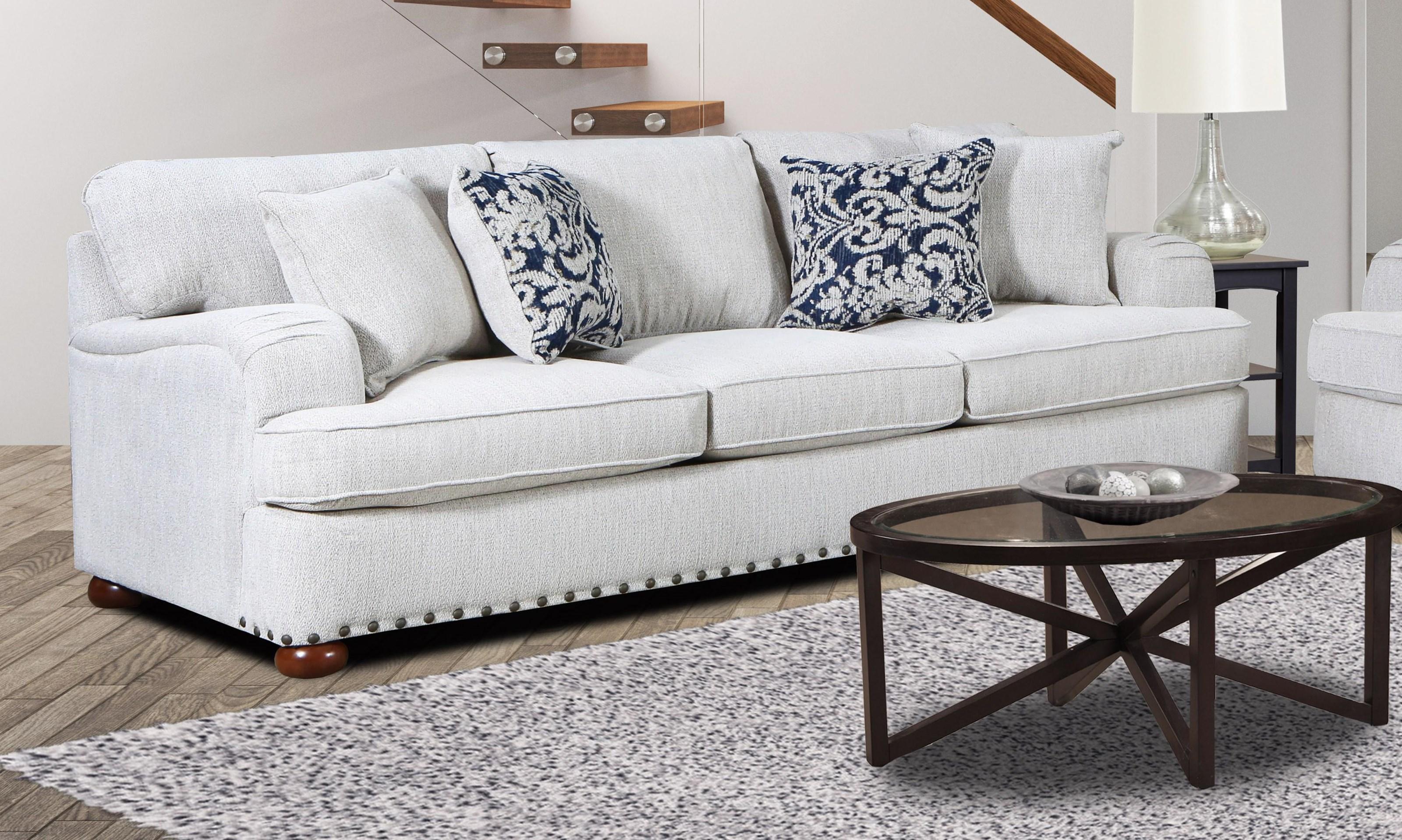 4100 Dixon SOFA by Magnolia Upholstery Design at Furniture Fair - North Carolina