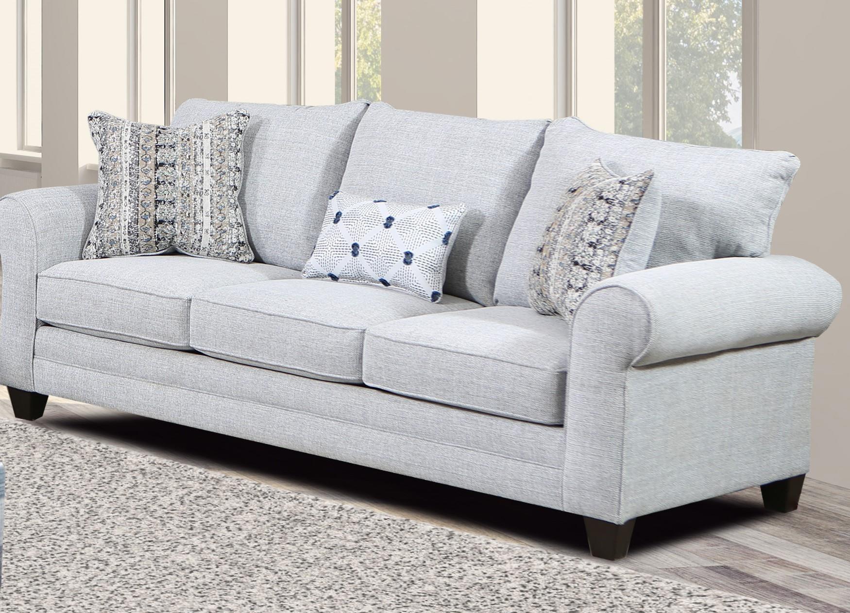 4200 QUEEN SOFA SLEEPER by Magnolia Upholstery Design at Furniture Fair - North Carolina