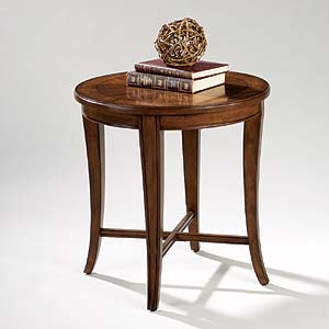 Magnussen Home Kingston Round End Table