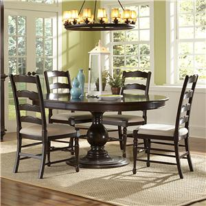 Magnussen Home  Loren 5 Piece Round Table and Chairs Set