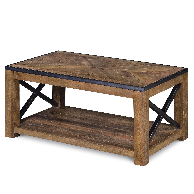 Penderton Small Rectangular Cocktail Table (w/ caste by Magnussen Home at Bullard Furniture