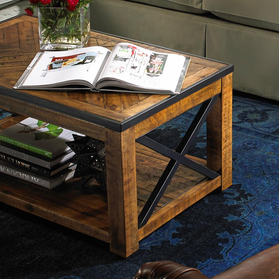 Penderton Small Rectangular Cocktail Table (w/ caste by Belfort Select at Belfort Furniture