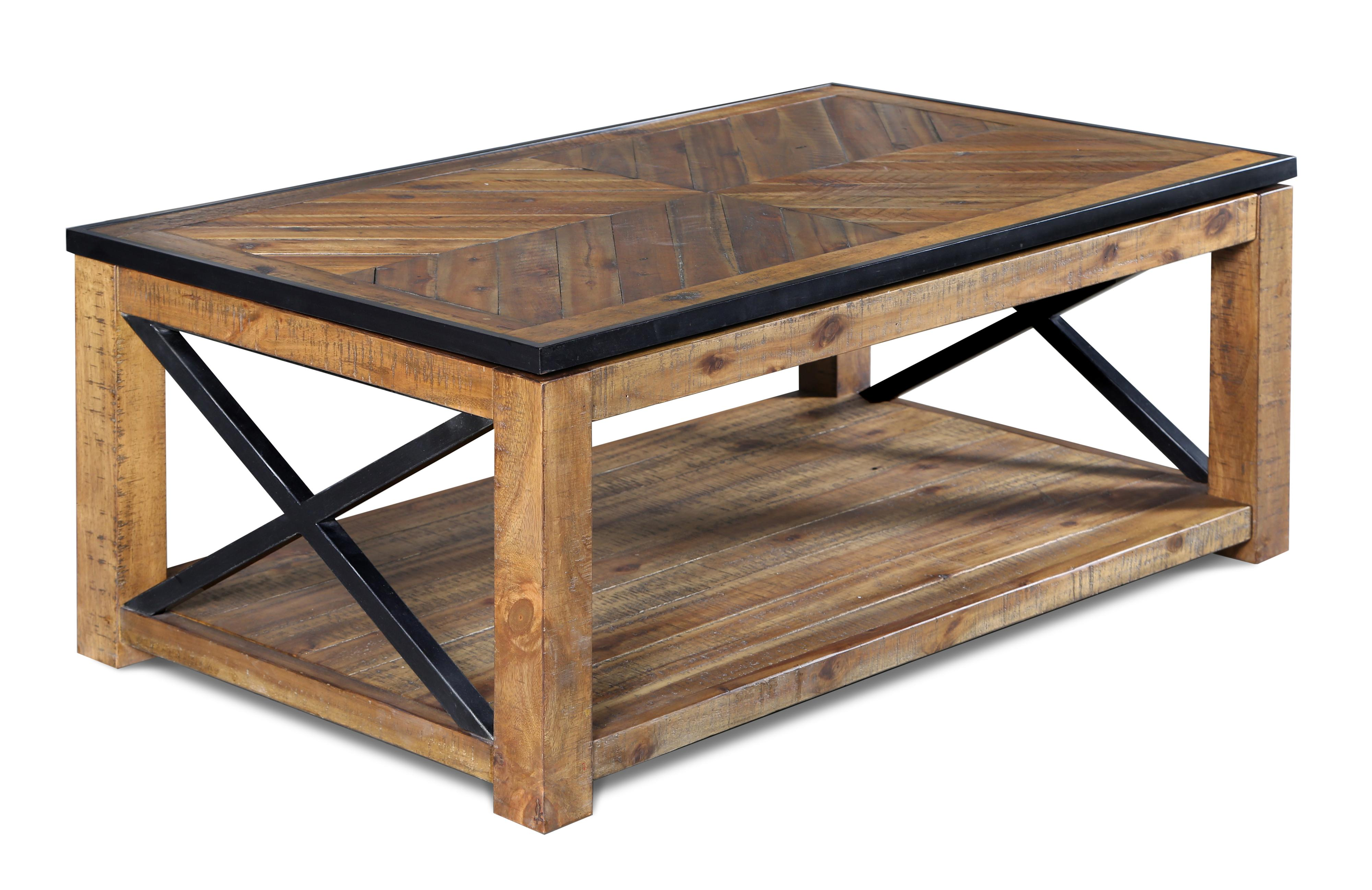 Penderton Rectangular Lift-top  Cocktail Table by Magnussen Home at Bullard Furniture