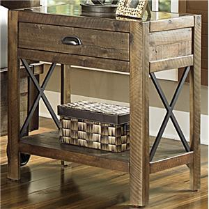 Magnussen Home  River Ridge Open Nightstand