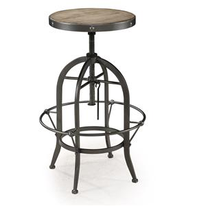 Magnussen Home  Walton Swivel Stool