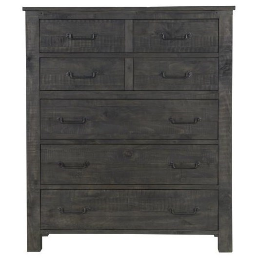 Abington 5 Drawer Chest by Magnussen Home at O'Dunk & O'Bright Furniture