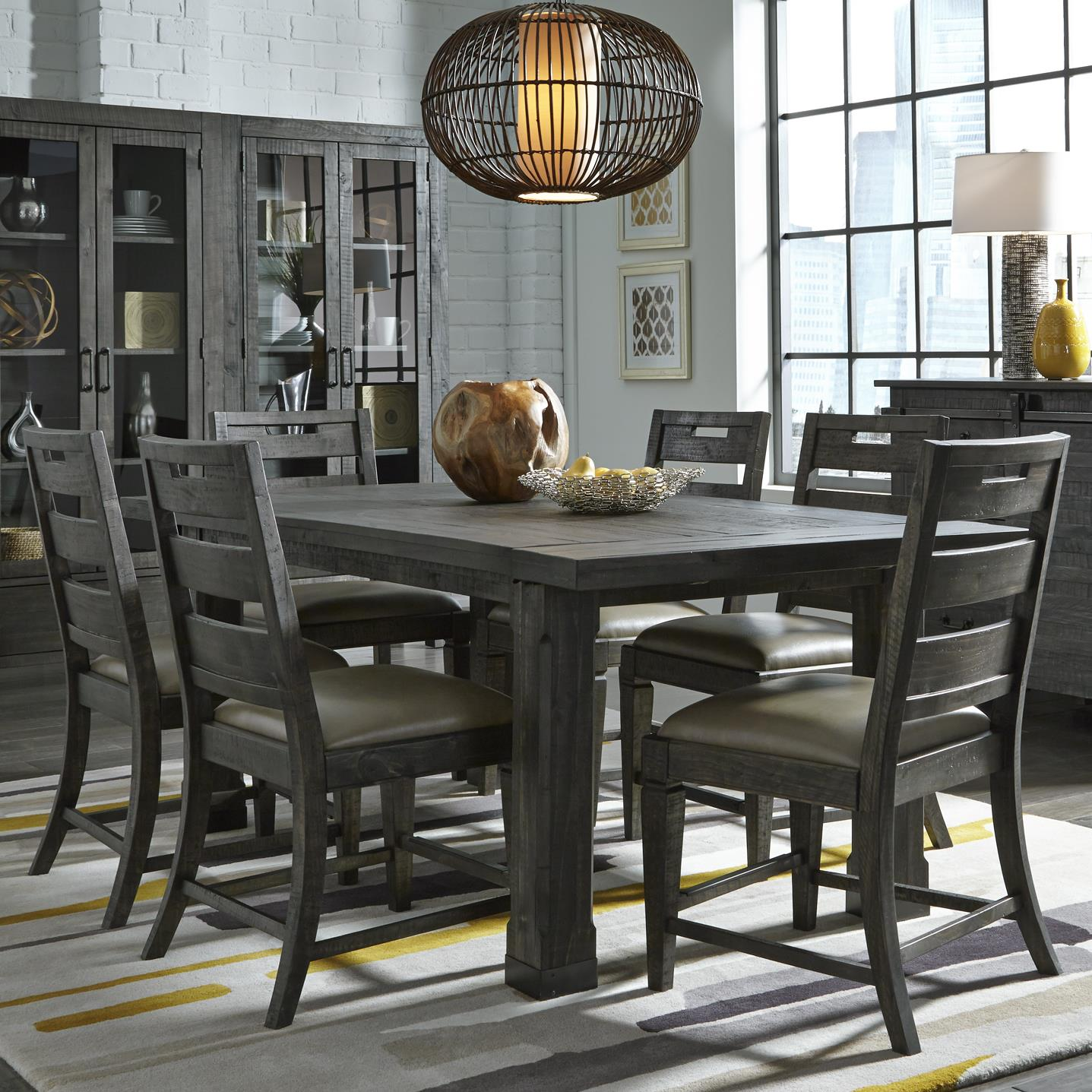 Abington 7 Pc Dining Set by Magnussen Home at Value City Furniture