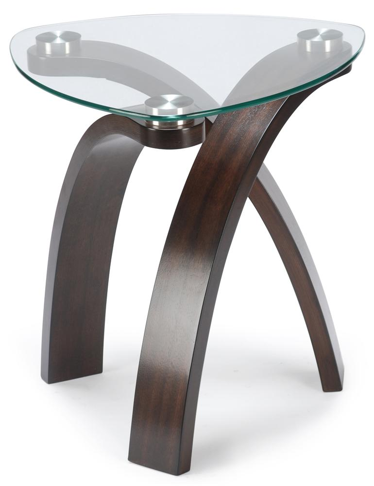 Allure End Table by Magnussen Home at Baer's Furniture