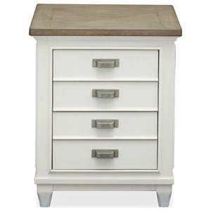 Chairside 2-Drawer End Table