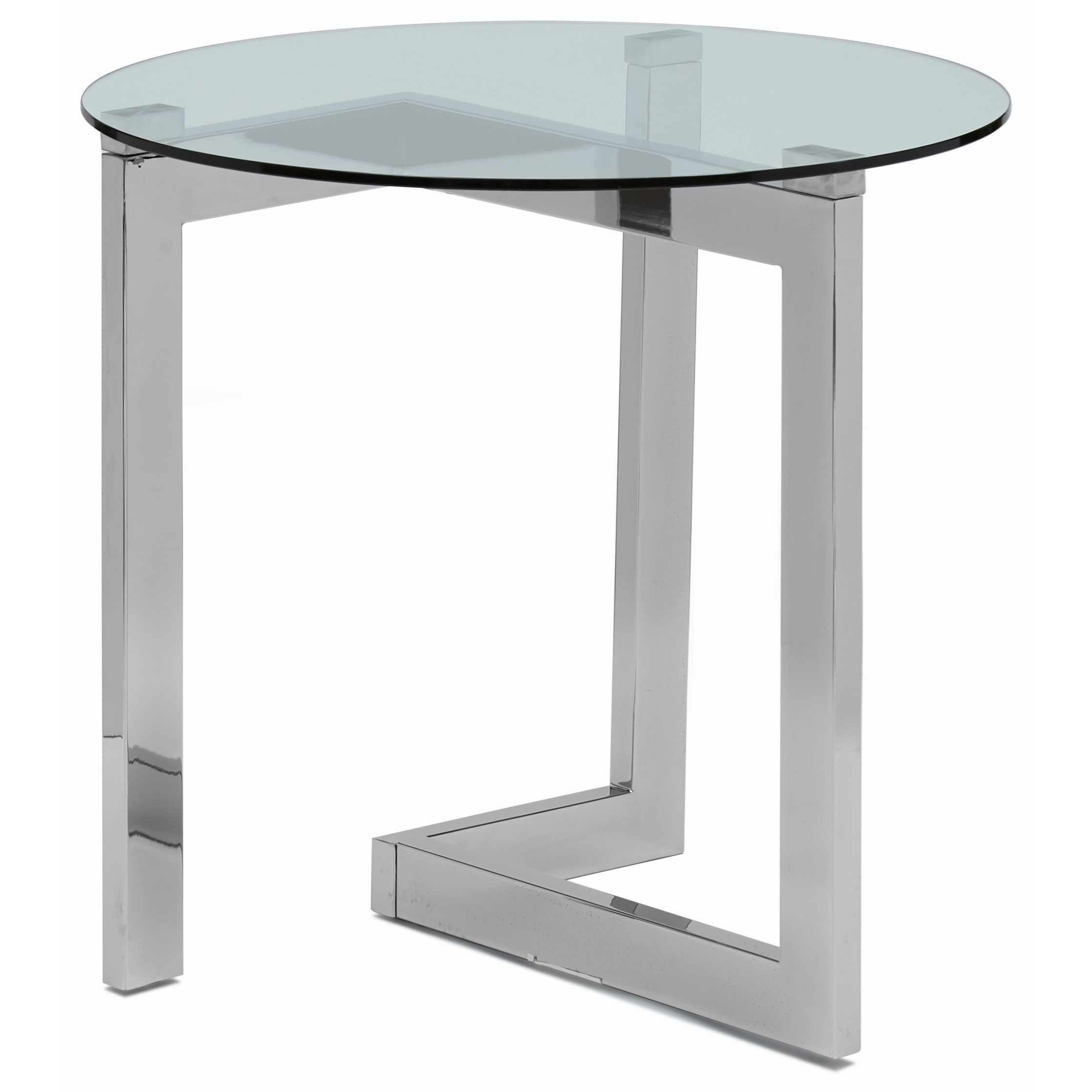 Aries Round End Table by Magnussen Home at Bullard Furniture