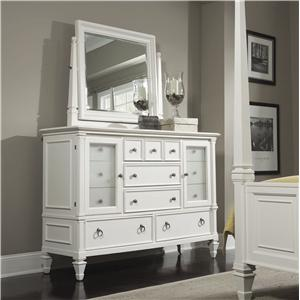 Magnussen Home Ashby Dresser and Tilt Mirror