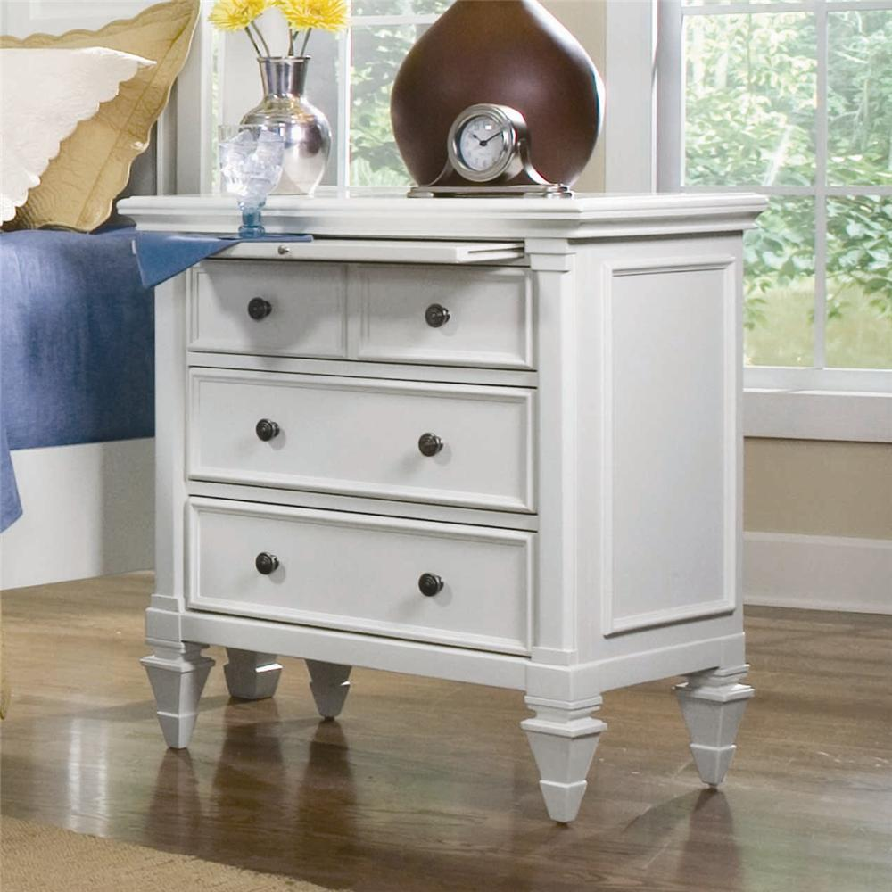 Ashby Night Stand by Magnussen Home at Baer's Furniture