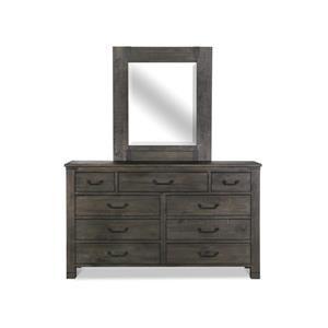 Portrait Mirror for Dresser