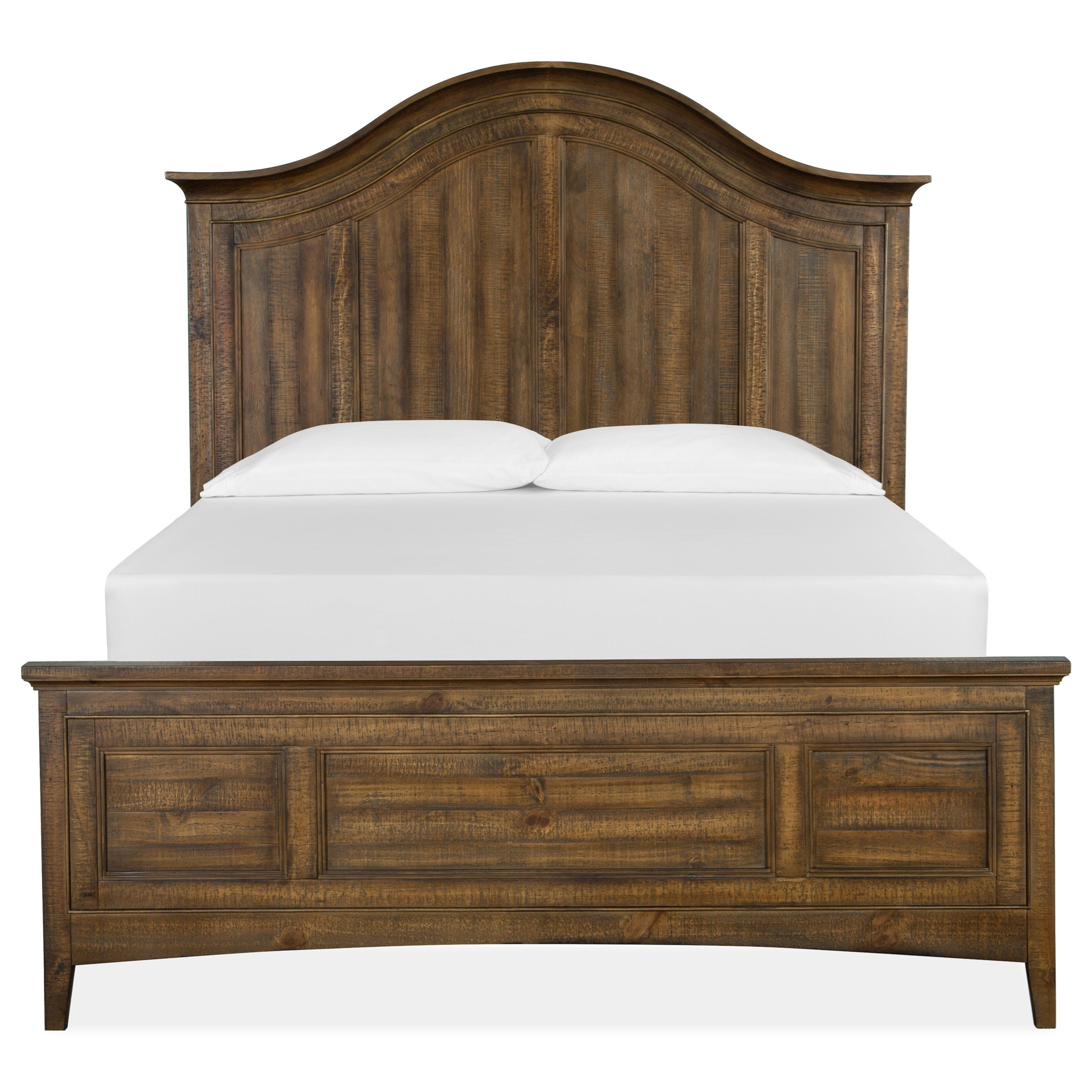 Queen Arched Bed