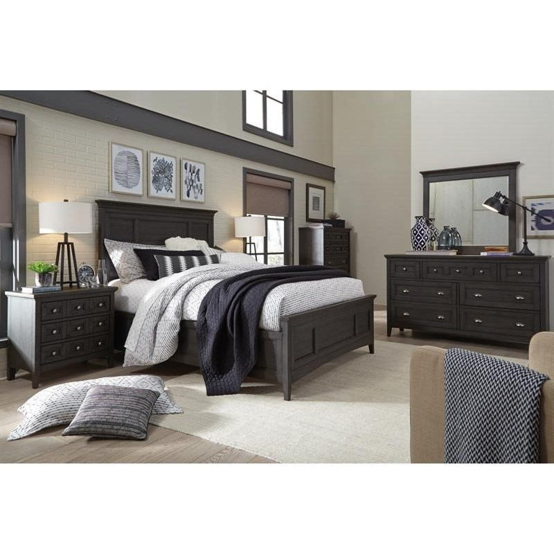 Westley Falls California King Bedroom Group by Magnussen Home at Upper Room Home Furnishings