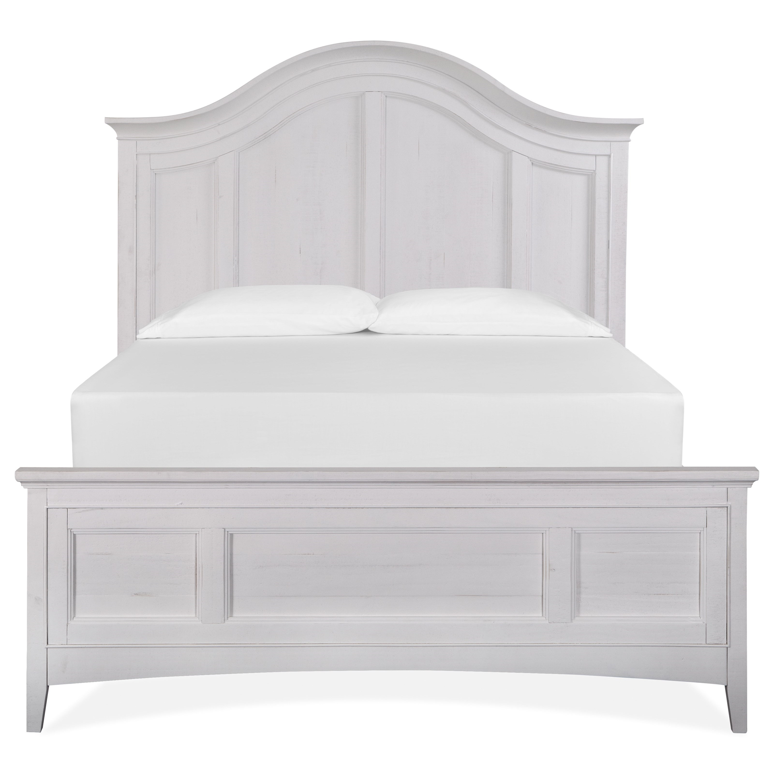 Heron Cove Queen Arched Bed by Magnussen Home at Stoney Creek Furniture