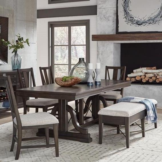 6-Piece Dining Set w/ Bench