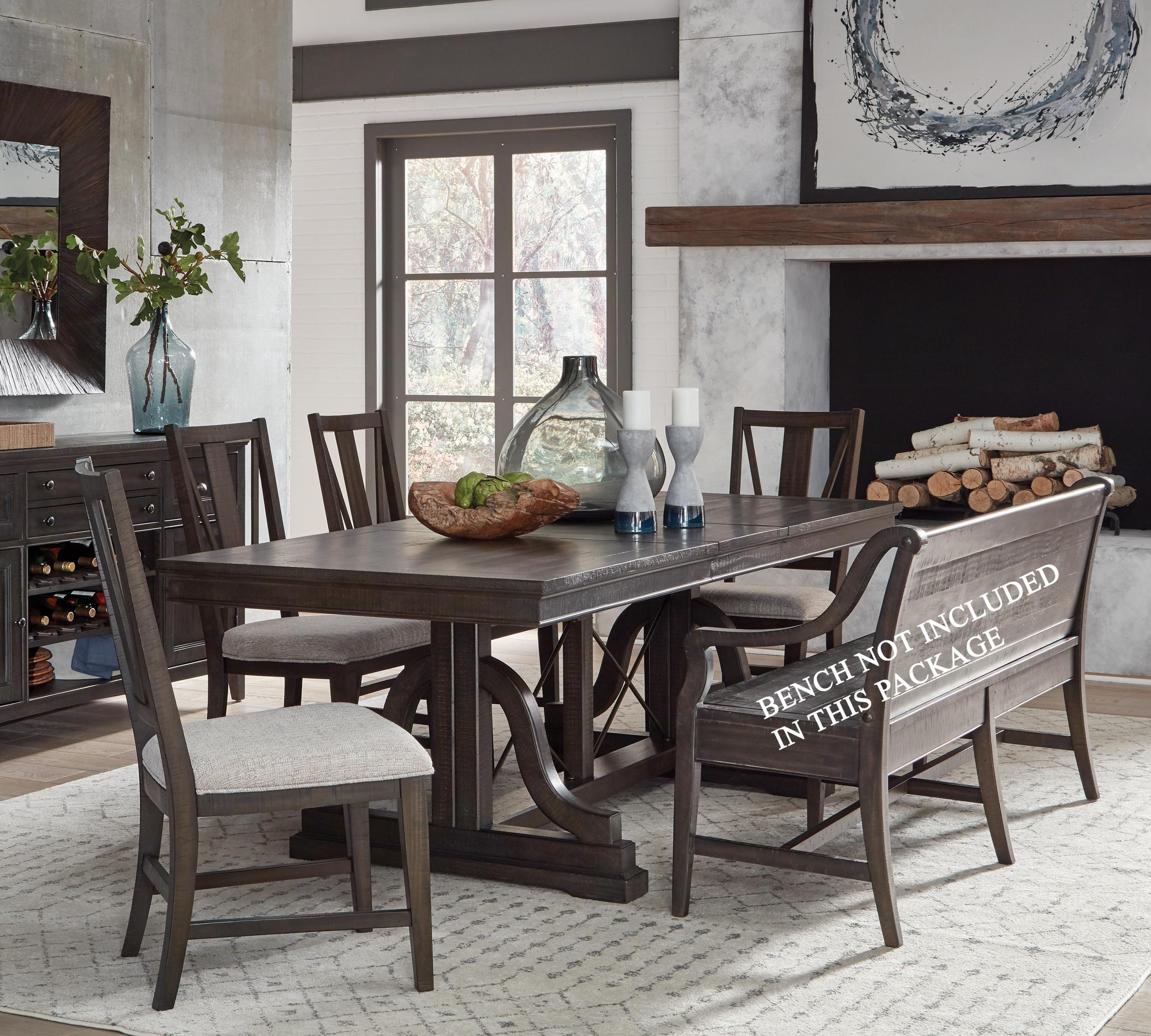 Westley Falls 5-Piece Table and Chair Set by Magnussen Home at Wayside Furniture