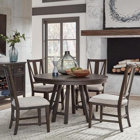 Wells 5-Piece Dining Set by Belfort Select at Belfort Furniture