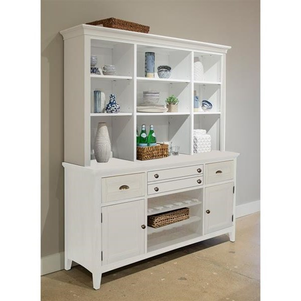 Heron Cove Buffet w/Hutch by Magnussen Home at Stoney Creek Furniture