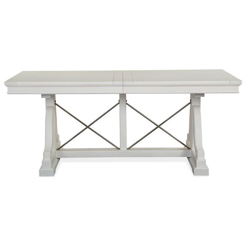 Heron Cove Dining Trestle Table by Magnussen Home at Stoney Creek Furniture