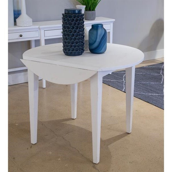 Heron Cove Drop Leaf Dining Table by Magnussen Home at Stoney Creek Furniture