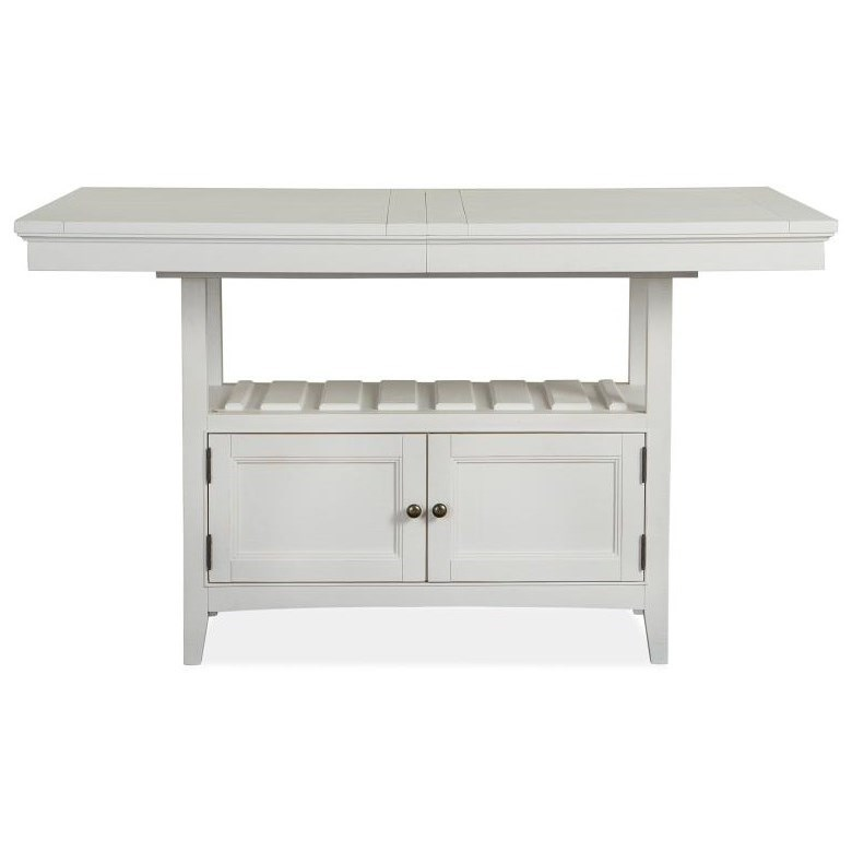 Heron Cove Counter Table by Magnussen Home at Stoney Creek Furniture