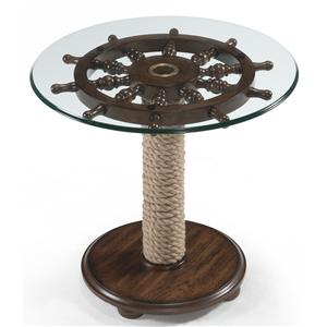 Magnussen Home Beaufort Round Accent Table