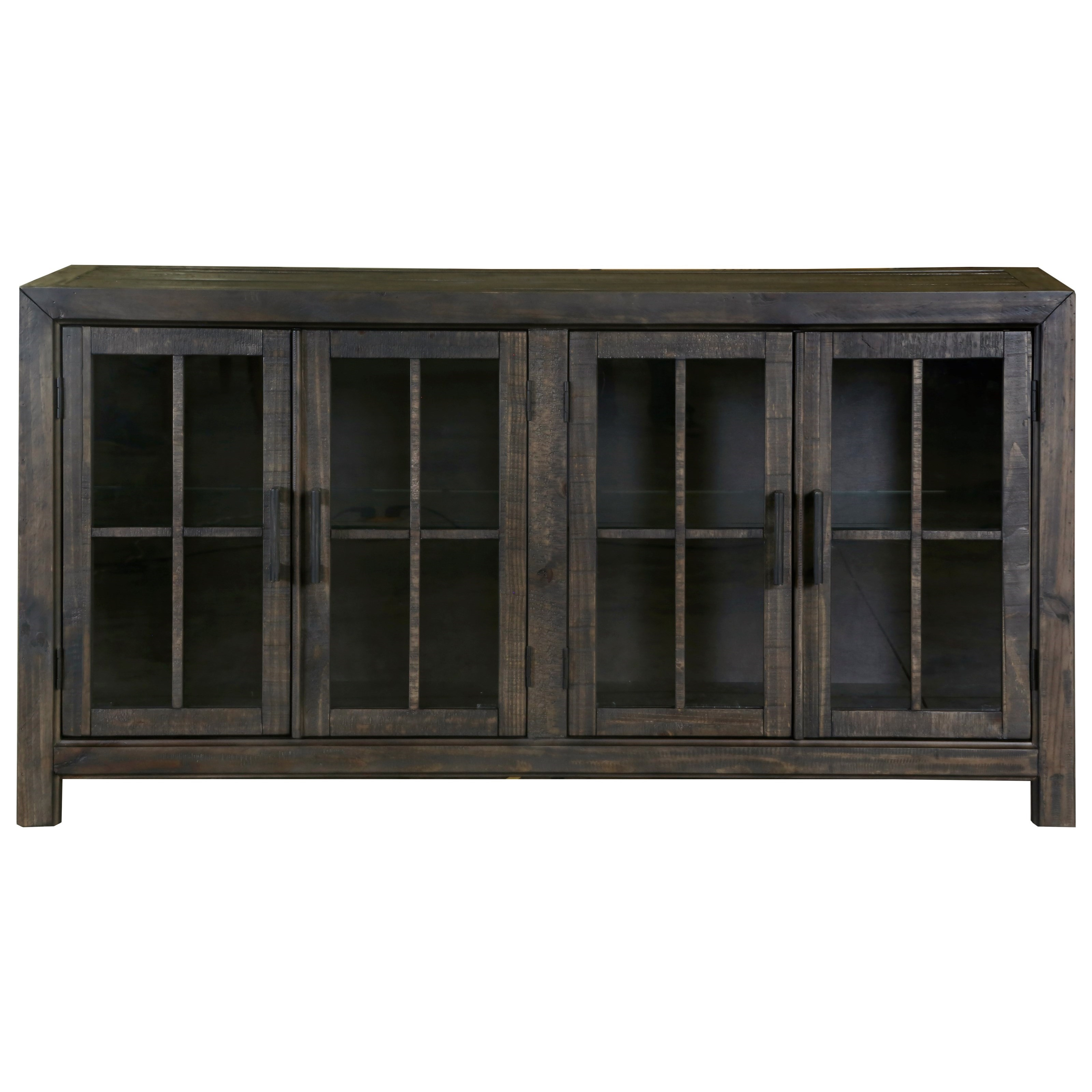 Bellamy Buffet Curio by Magnussen Home at Johnny Janosik