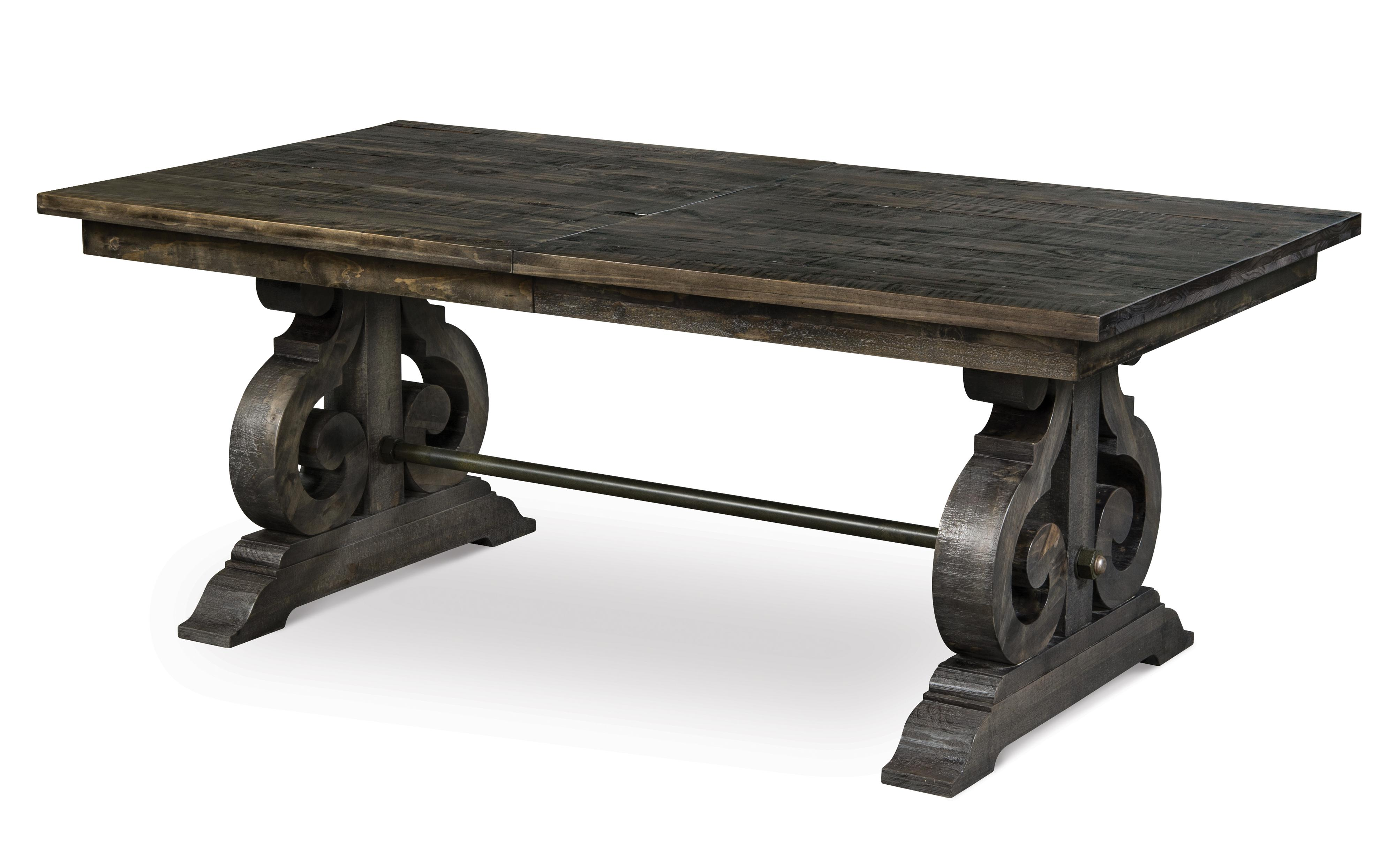 Bellamy Rectangular Dining Table w/ Butterfly Leaf by Magnussen Home at Johnny Janosik