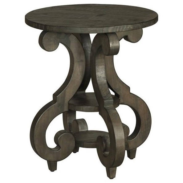 Bellamy Round Accent End Table by Magnussen Home at Darvin Furniture
