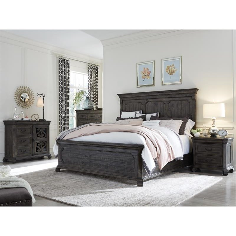 Bellamy King Bedroom Group by Magnussen Home at Stoney Creek Furniture